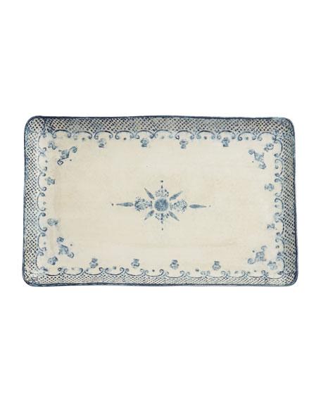 Arte Italica Burano Large Rectangular Platter