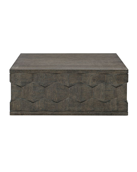 Bernhardt Linea Dimensional Square Coffee Table