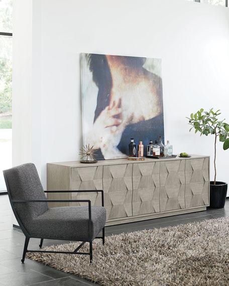 Bernhardt Hector Iron Lounge Chair