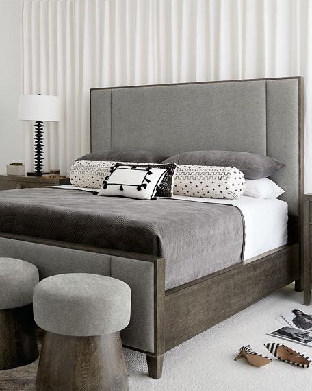 Bernhardt Linea Vertical Panel King Bed