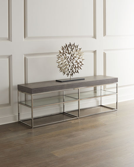 Bernhardt Riverside Low Console Table