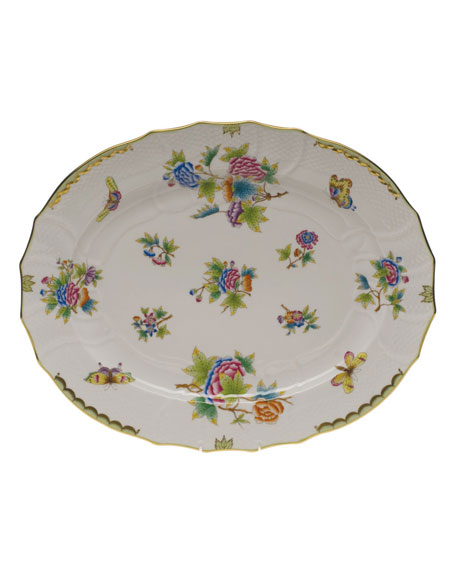 Herend Queen Victoria Turkey Platter