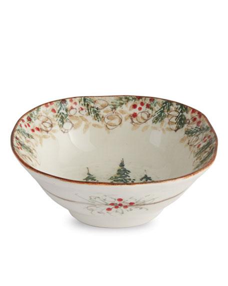 Arte Italica Natale Pasta/Cereal Bowl
