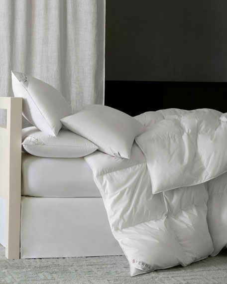 SFERRA 800-Fill European Down Light Weight Queen Duvet