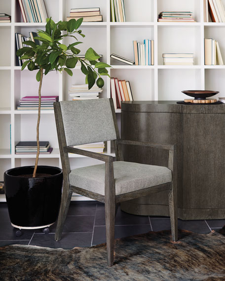 Bernhardt Linea Half-Back Arm Chair