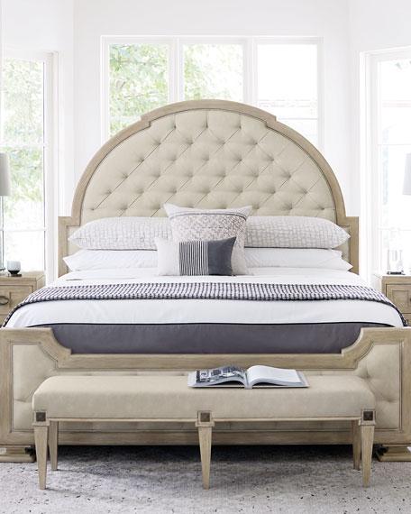 Bernhardt Santa Barbara Tufted King Bed