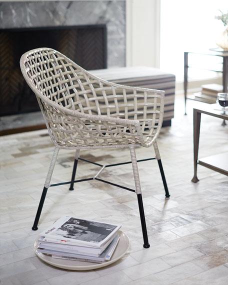 Bernhardt Cody Rattan Accent Chair