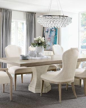 2cafc3ed1fce Bernhardt Santa Barbara Double Pedestal Dining Table