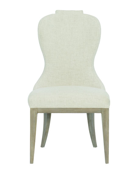Bernhardt Santa Barbara Notched Side Chairs, Set of 2