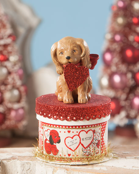 Bethany Lowe Puppy Love Valentine's Box