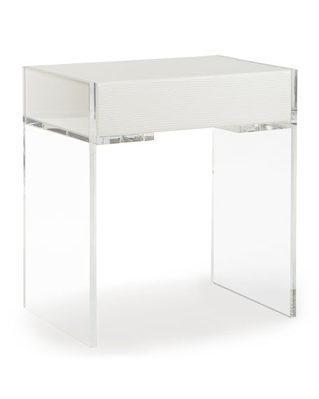 Square Feathers Anton Side Table