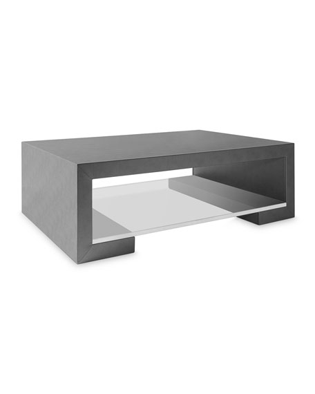 Square Feathers Lamar Coffee Table