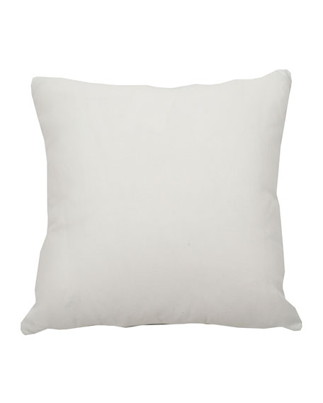 "Summer Classics Halo Stripe Kelly Pillow, 20""Sq."