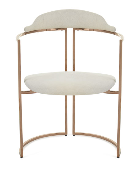 Windsor Smith for Arteriors Zephyr Cowhide Chair