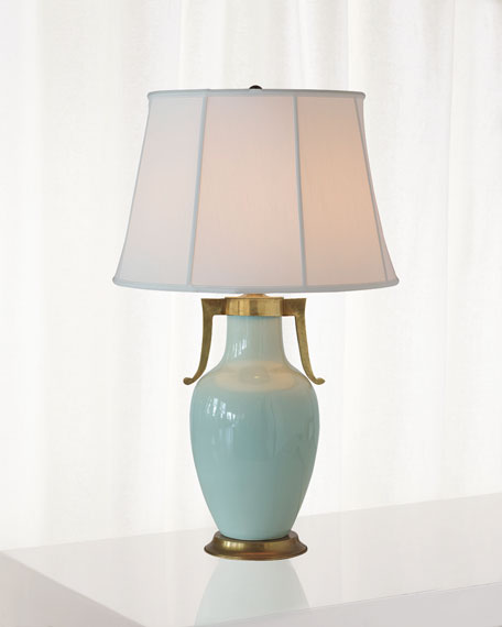 Port 68 Glenda Celadon Table Lamp
