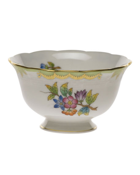 Herend Queen Victoria Open Sugar Bowl