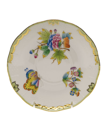 Herend Queen Victoria Covered Bouillon Saucer