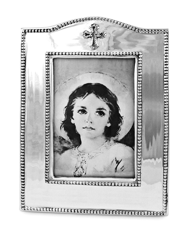 Beatriz Ball Vertical Baby Cross Frame 4 Quot X 6 Quot Neiman
