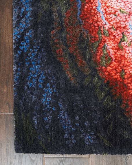 NourCouture Bartlett Power-Loomed Rug, 7.9' x 10'