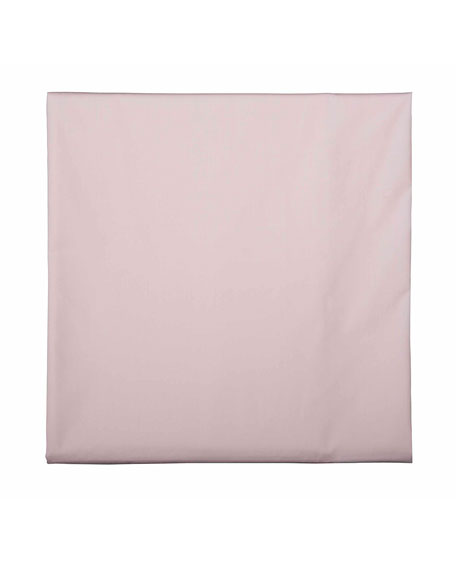 Bovi Fine Linens Baby Fitted Crib Sheet, Pink