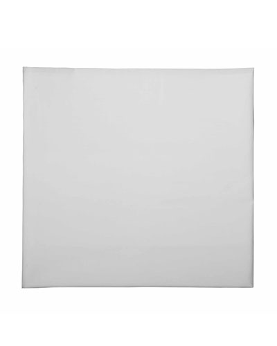 Baby Fitted Crib Sheet  White