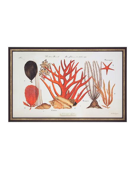 "John-Richard Collection ""Coral Reef II"" Giclee Wall Art"