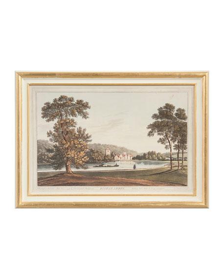 "John-Richard Collection ""Bisham Abby"" Art Print"