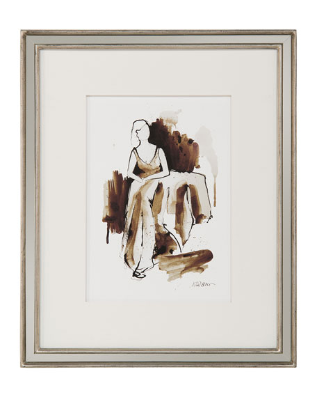 "John-Richard Collection ""Ladylike I"" Giclee Wall Art by Kiah Denson"