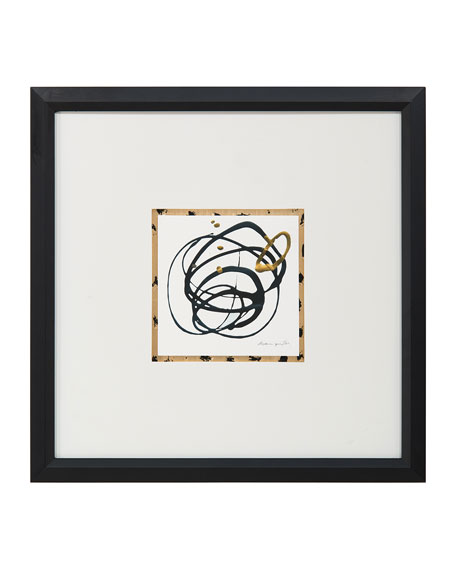 "John-Richard Collection ""Loops Loops VI"" Giclee Wall Art by Dyann Gunter"