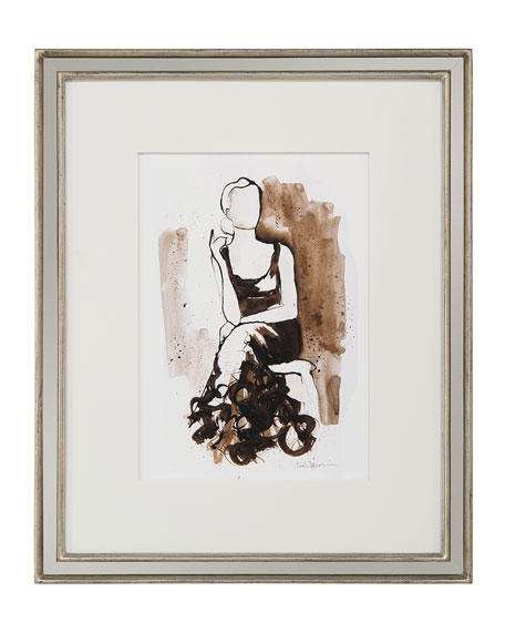 "John-Richard Collection ""Ladylike V"" Giclee Wall Art by Kiah Denson"