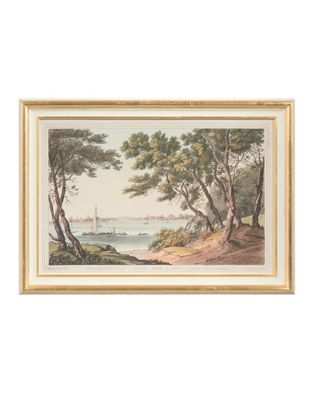 "John-Richard Collection ""View of the River"" Art Print"