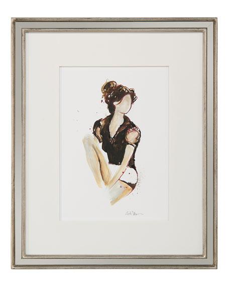 "John-Richard Collection ""Ladylike VI"" Giclee Wall Art by Kiah Denson"