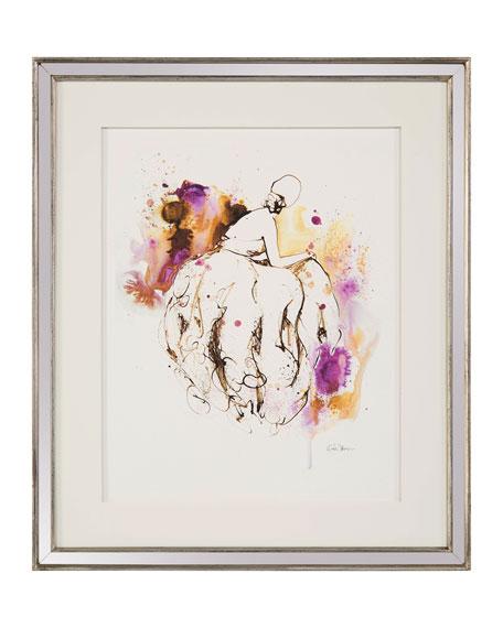 "John-Richard Collection ""Lady in Violet V"" Giclee Wall Art by Kiah Denson"