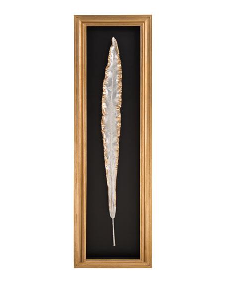 "John-Richard Collection ""Gilded Bird of Paradise I"" Alternative Art Botanical"