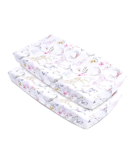 Oilo Studio Fawn Jersey Changing Pad Cover