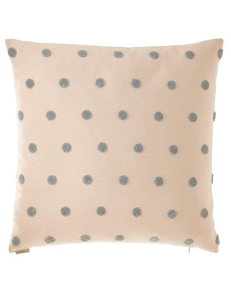 D.V. Kap Home Puff Dotty Pillow