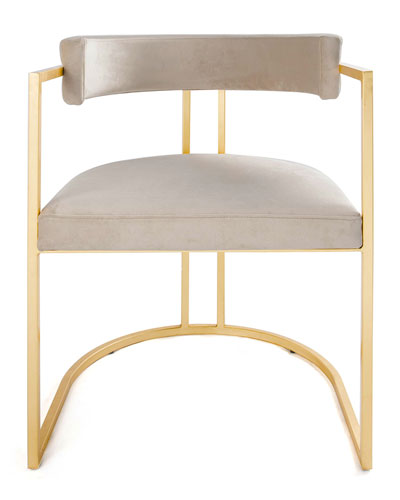 Monica Gold Leaf Counter Stool