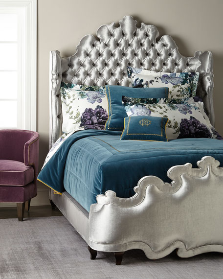 Haute House Isabella Tufted King Bed