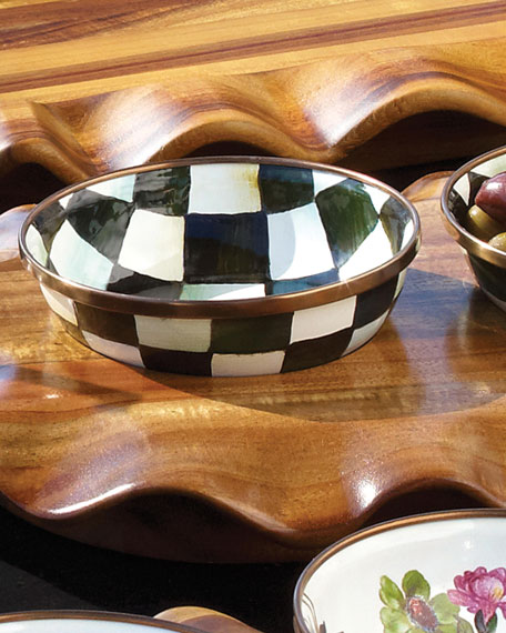 Image 2 of 3: MacKenzie-Childs Courtly Check Relish Dish
