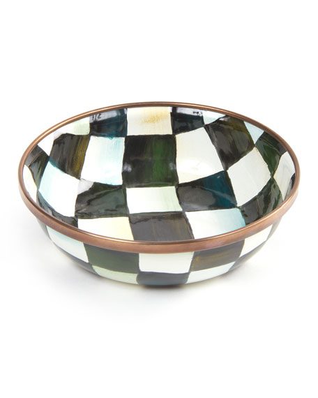 Image 1 of 3: MacKenzie-Childs Courtly Check Relish Dish