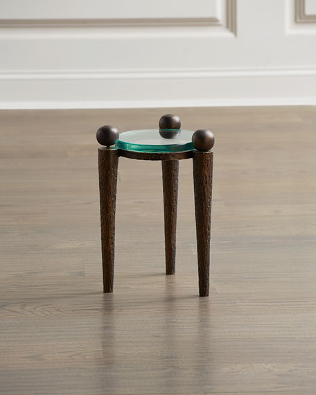 Global Views Rock On Accent Table