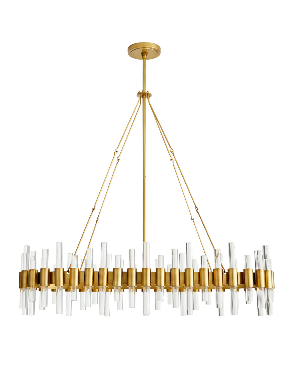 Arteriors Haskell Oval Chandelier