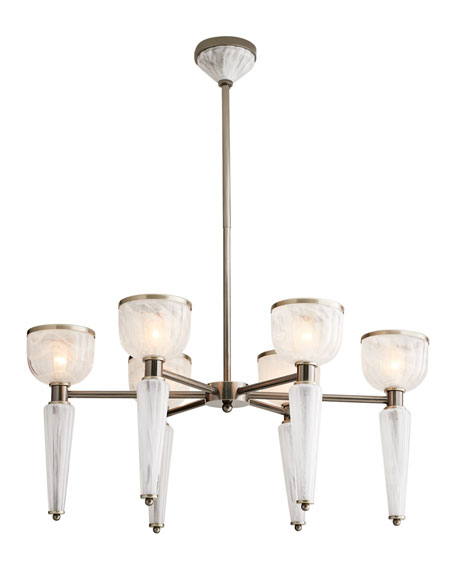 Image 2 of 2: Arteriors Richardson Chandelier