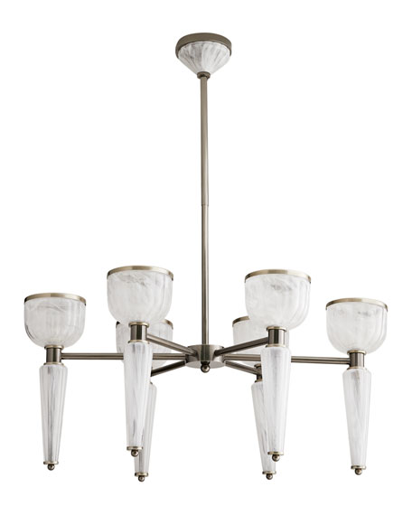 Image 1 of 2: Arteriors Richardson Chandelier