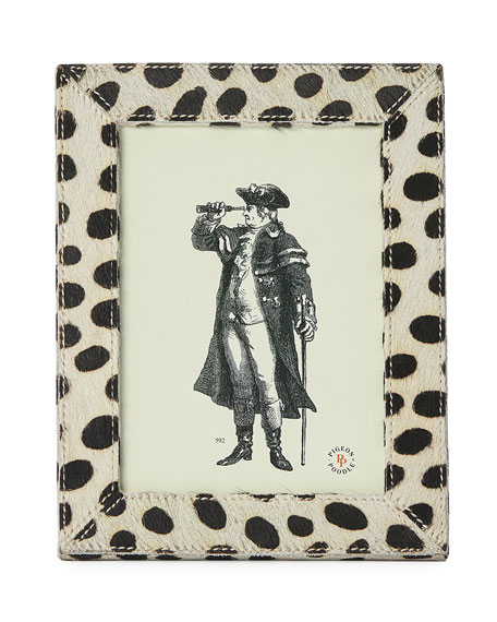 "Pigeon and Poodle Hana Dalmatian Picture Frame, 5"" x 7"""