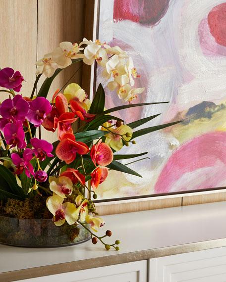 John-Richard Collection Atrium Orchids Arrangement