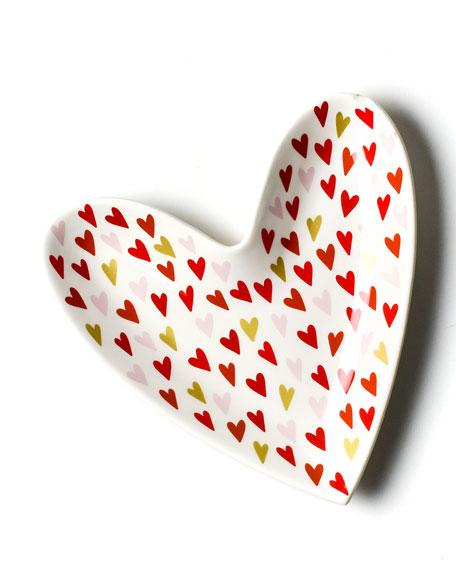 Coton Colors Heart Plate