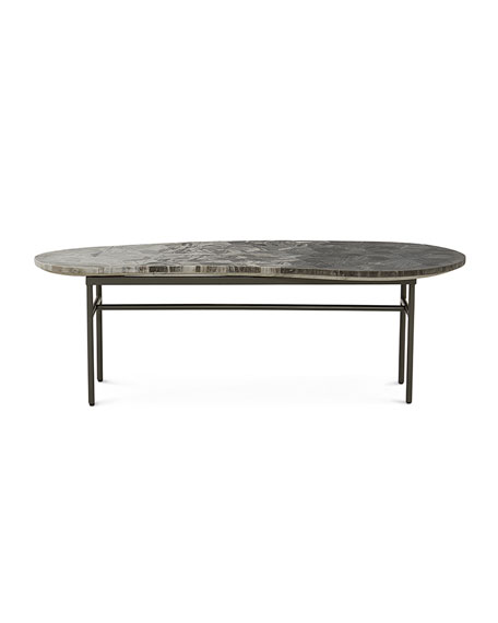 Cameron Marble Top Coffee Table