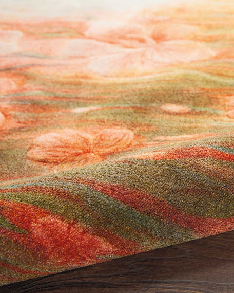 NourCouture Calla Power-Loomed Rug, 7.9' x 10'