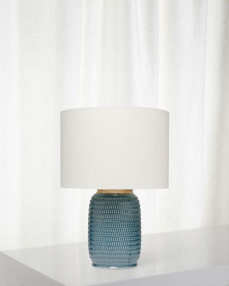 Graham Table Lamp, Blue